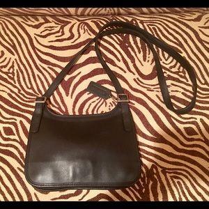 ❣️Coach Black Leather Crossbody Handbag❣️